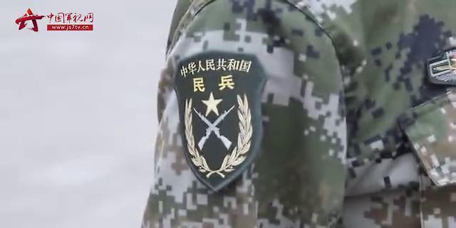 中國民兵在行動