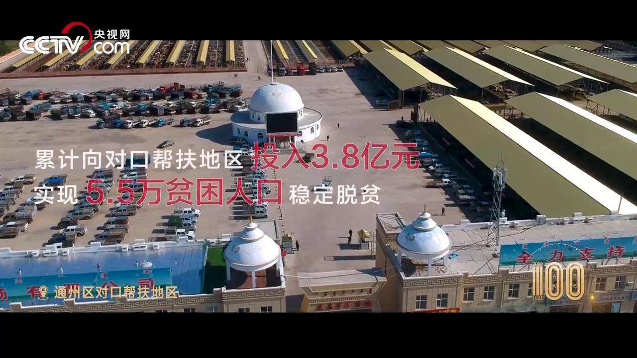 【人民记忆:百年百城】北京通州奔小康