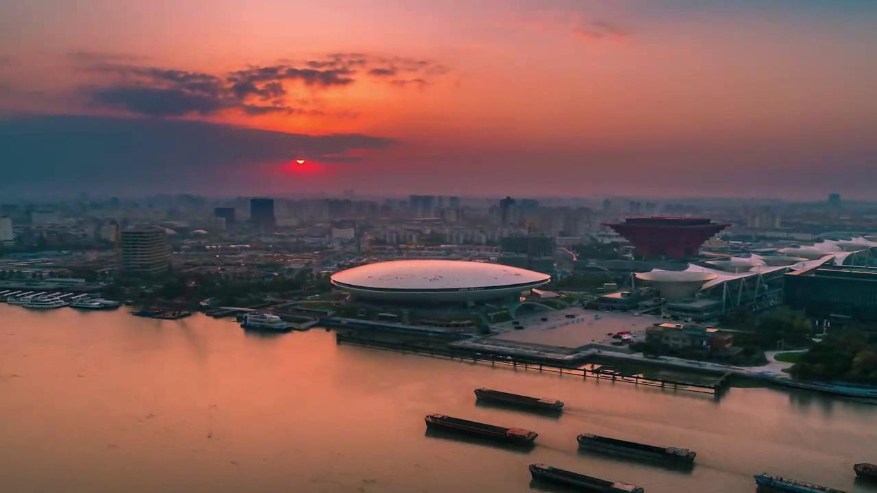 錦繡中華·大美山川 | 從晨光到夜色 世博園的13小時