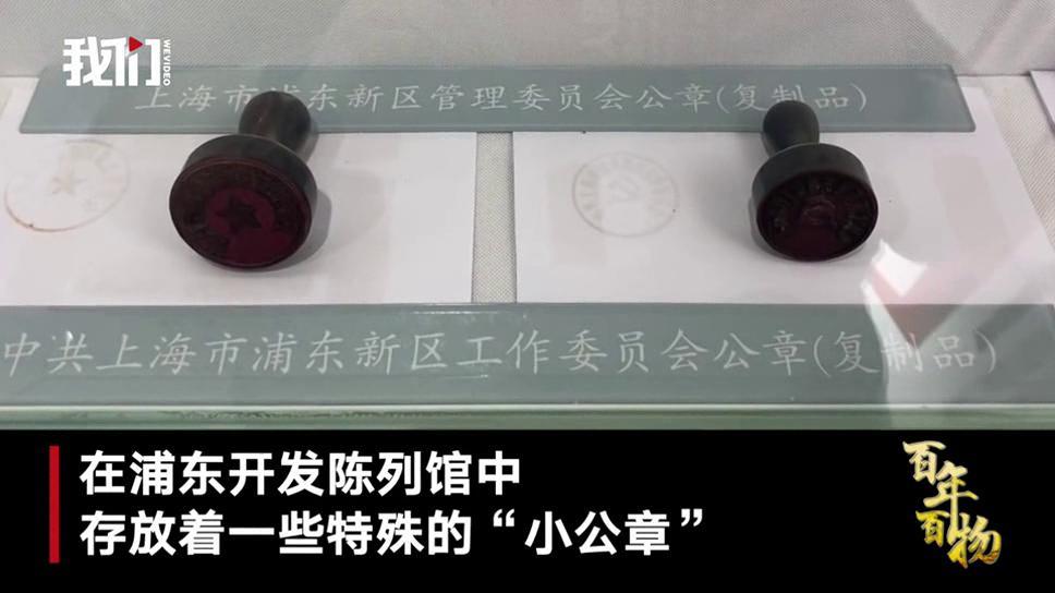 百年百物丨浦东新区公章:比同级大0.3厘米 小改动预示大改革
